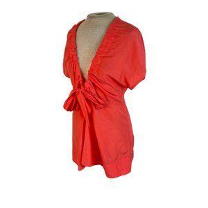 Bruuns Bazaar Copenhagen Top Shirt Blouse Silk